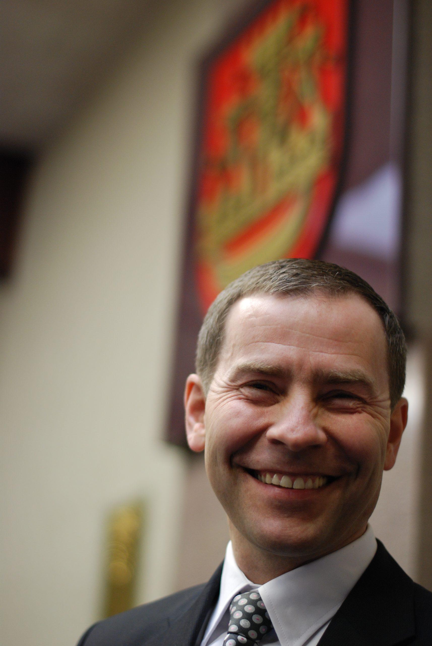 Klaipëdos miesto tarybos narys Saulius Budinas.